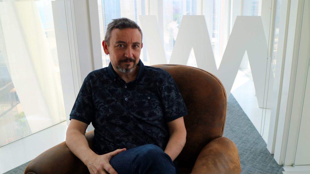 Foto de Albert Rodes, CEO de Watchity