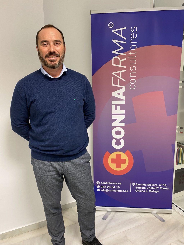 Foto de Jose Alberto Calderón, Director General de ConfiaFarma.